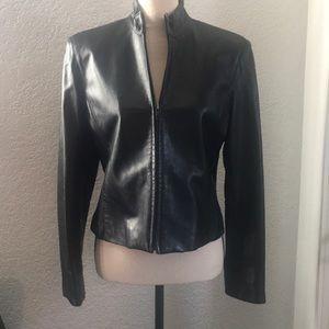 Jones New York 100% Genuine Leather Jacket